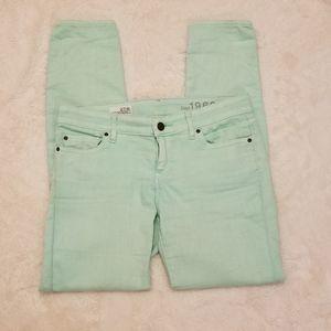 Gap Always Skinny Mint Jeans